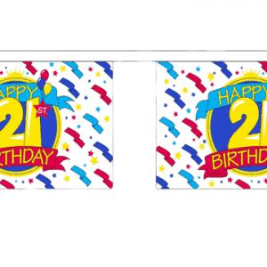 21st Birthday Bunting