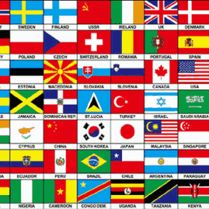 70 Nations Flag