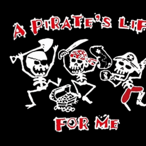A Pirates Life For Me Flag