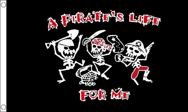 A Pirates Life For Me Flag