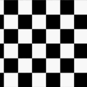 Black and White Checkered Giant Flag