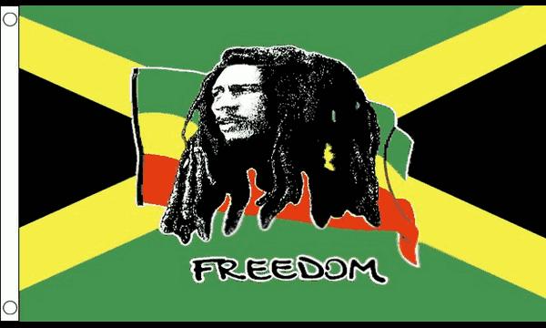Bob Marley Jamaica Flag
