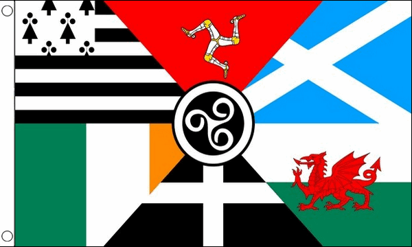 Celtic Nations Flags