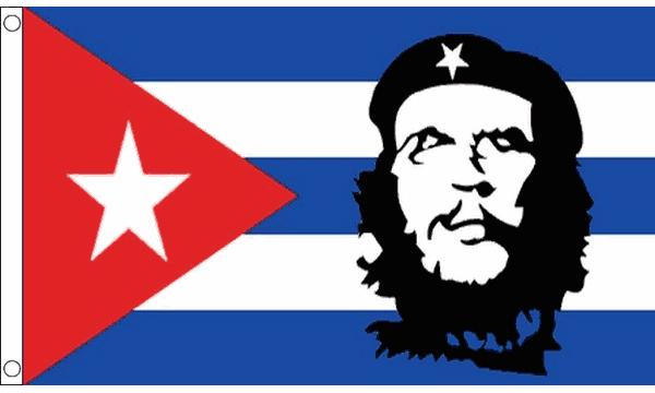 Che Guavara Cuba Flag