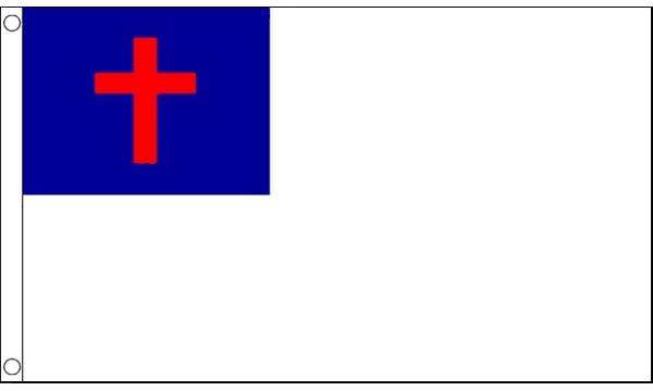 Christian Flag 5ft x 3ft