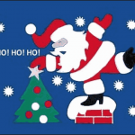 Christmas Ho Ho Ho Flag