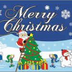 Christmas North Pole Flag
