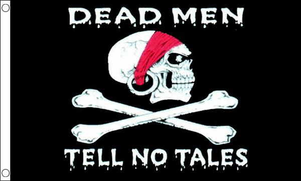 Dead Men Tell No Tales Flag