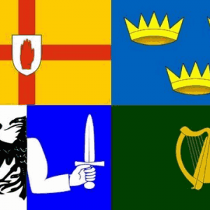 Four Provinces Flags