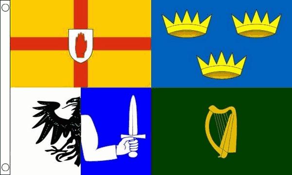 Flag Banner Leinster Ireland Flag 3ft x 2ft 90cm x 60cm