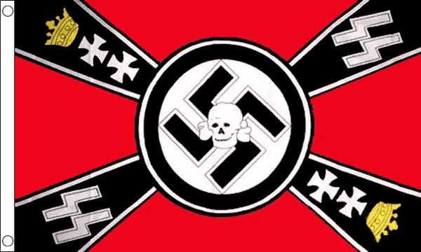 German WWII Crown Flag