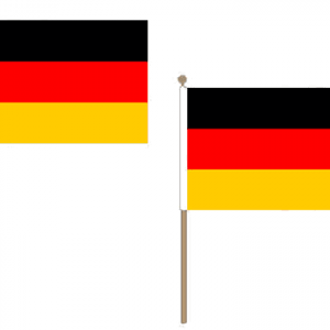 Germany Hand Waving Flags