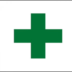 Green Cross Flag
