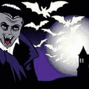 Halloween Bat Flag