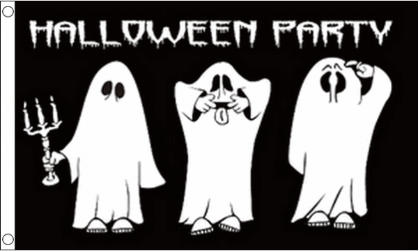 Halloween Party Flag