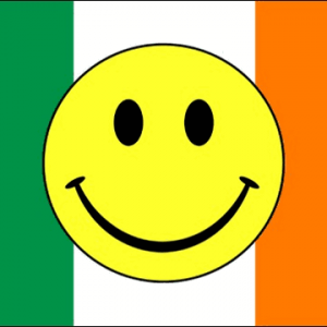 Ireland Smiley Face Flags