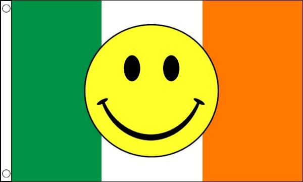 Ireland Smiley Face Flag