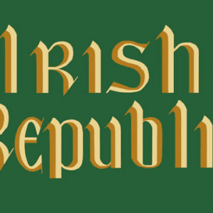 Irish Republic Easter Rising Flag