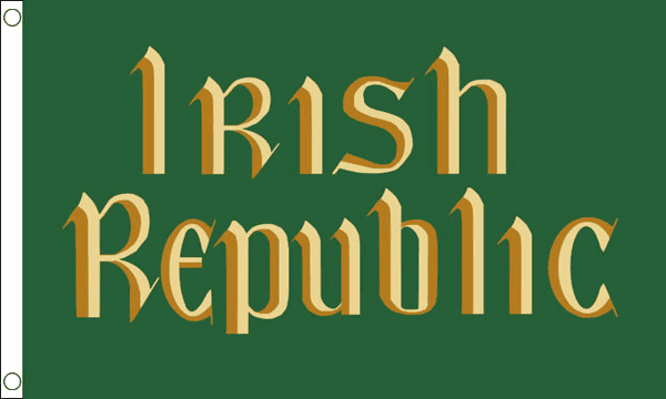 Irish Republic Easter Rising Flag