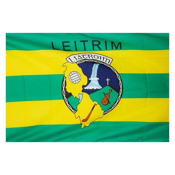 Leitrim Gaa Flag