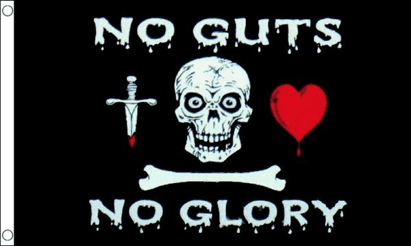 No Guts No Glory Flag