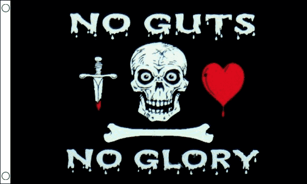 No Guts No Glory Flag