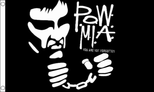 POW MIA Handcuffs Flag