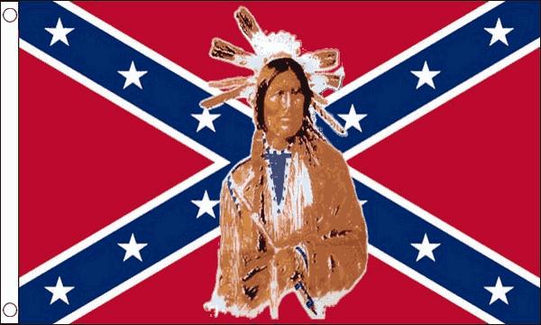 Rebel Indian Flag