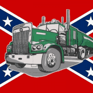 Rebel Truck Flag