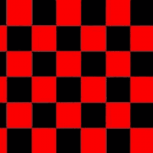 Red and Black Checkered Flag