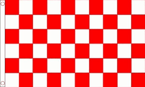 Red & White Checkered Flag