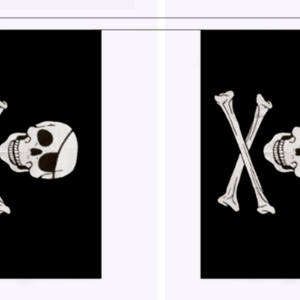 Skull & Cross Bones Bunting 9 Metres