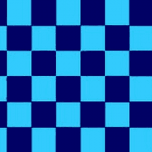 Sky Blue and Navy Blue Checkered Flag
