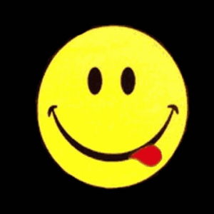 Smiley Face Acid Flag