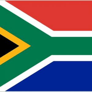 South Africa Nylon Flag