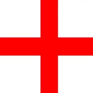 St Georges Cross Nylon Flag