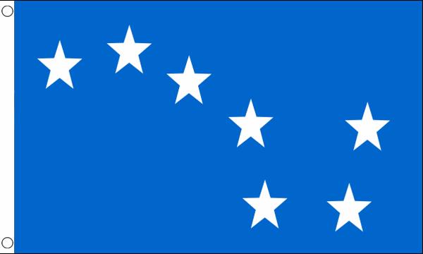 Starry Plough Light Blue Flag