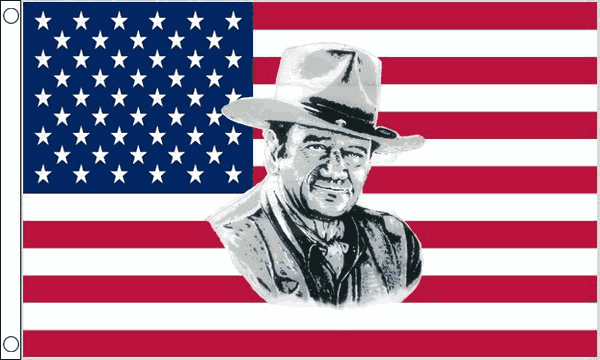 USA John Wayne Flag