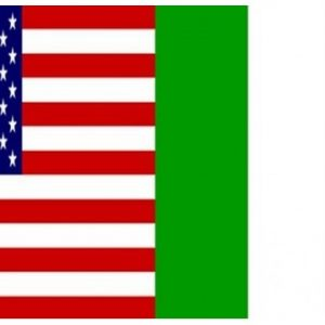 USA and Ireland Friendship Flag