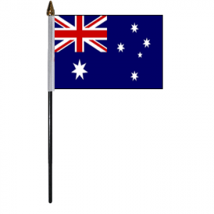 Australia Table Flags