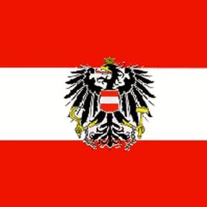 Austria with Eagle Flag