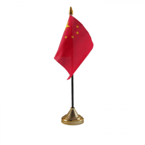 China Table Flag