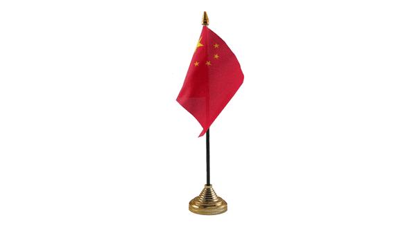 China Table Flag