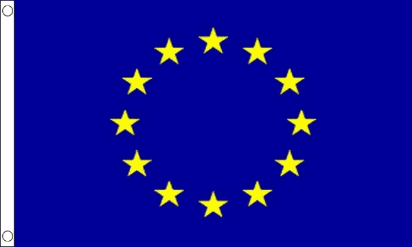 European Union Flag for Sale | Buy EU Flags & Bunting from Flagman.ie