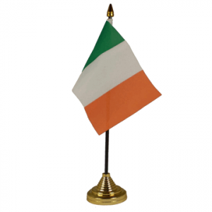 Ireland Table Flags