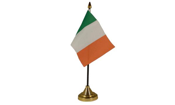 Ireland Table Flags