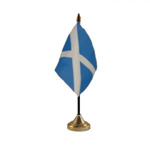 Scotland Table Flags (Light Blue)