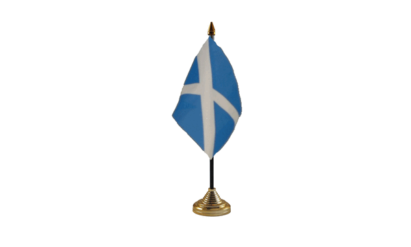 Scotland Table Flags (Light Blue)