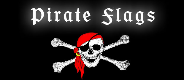 Pirate Flags Pirate Bunting Pirate Hand Waving Flags