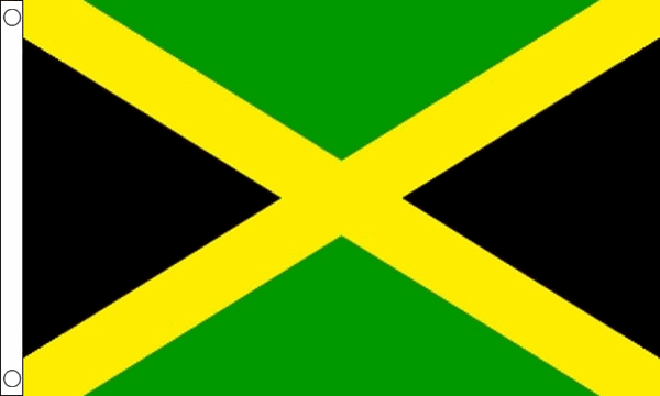 how to draw a jamaican flag
